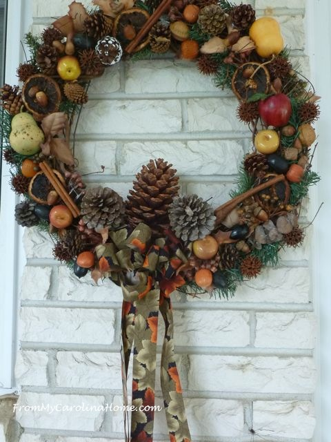 Harvest Wreath ~ From My Carolina Home
