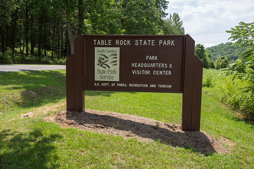 Table Rock State Park sign