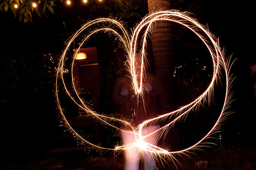 Sparklers! | by Jaymi M Photography