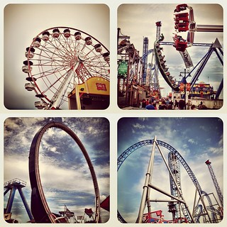 Galveston Pleasure Pier Rides 07/07/2012 - 3 | Instagram Photos | by @iseenit_RubenS | R.Serrano Photography