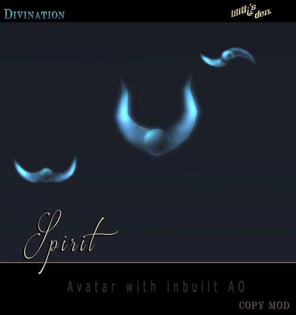 Lilith's Den  - Divination Spirit AVATAR - TH 2016