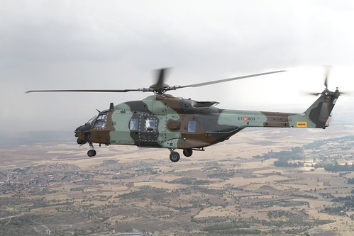 Recepción de los dos primeros helicópteros HT-29 Caimán (5)
