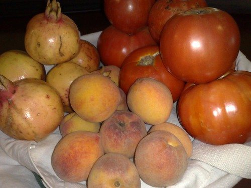 Tomatoes Peaches Pomegranites | by NOWCastSA