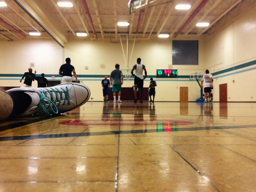 Basketball at the Rec (September 10 2015)