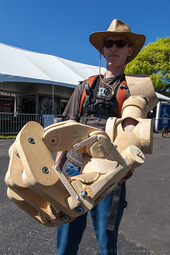 Wooden Bionic Arm | by the other Martin Taylor