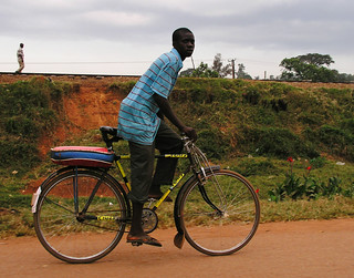 Riding a bike in Kampala | by World Bank Photo Collection