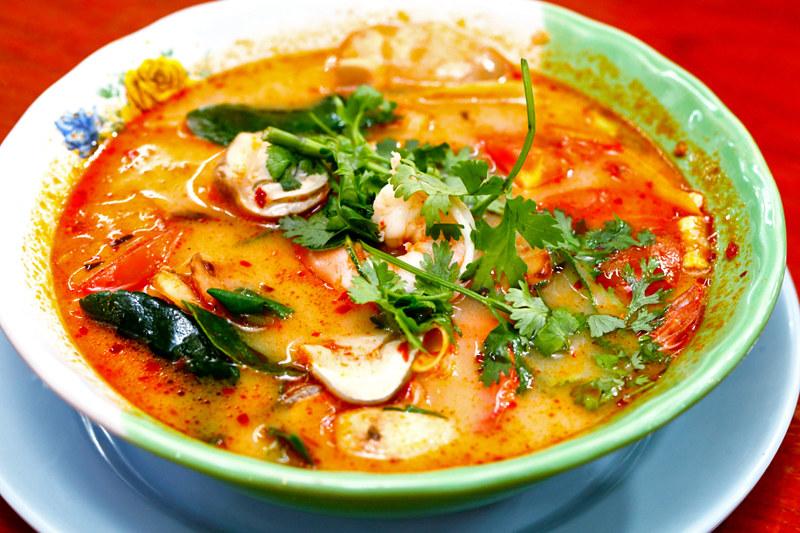 Anusarn Market Seafood Tomyam