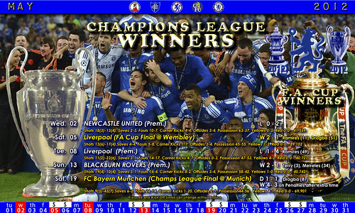 Chelsea May Fixtures 2012 | by The_Old_Grey_Wolf