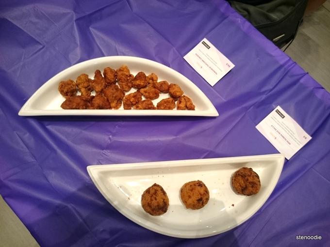 Savory snacks from Menu Food Truck