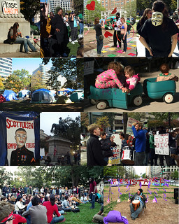 Occupy DC Photo Collage | by kimsworldofart