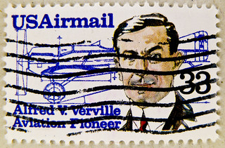stamp USA air mail postage 33c Alfred V. Verville airplane United States postes timbre par avion selos sellos USA Airmail francobolli postzegels USA u.s. postage Airmail 郵便切手 切手  アメリカ stamps u.s. postage 33c stamp 切手 Briefmarke USA Briefmarken スタンプ zegel | by thx for sending stamps :) stampolina