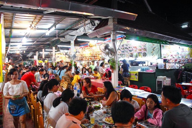 Anusarn Market Food Stalls