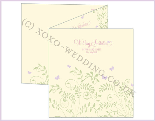 Antlia Invitation | by xoxo wedding_stationery