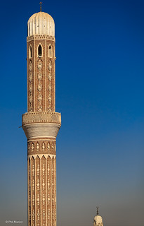 Mosque minarets - Sana'a, Yemen | by Phil Marion (57 million views - thank you all)