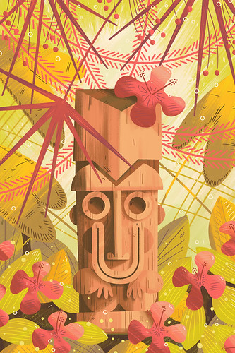 Tiki Wallpaper One | by kolbisneat