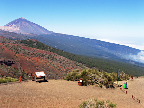 Cumbre Road to Mount Teide, Tenerife | by tenerife holidays