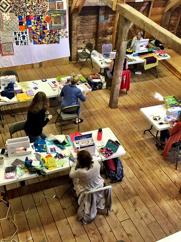 Maine Slow Stitching Retreat 2016