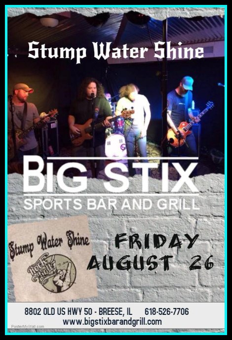 Stump Water Shine 8-26-16
