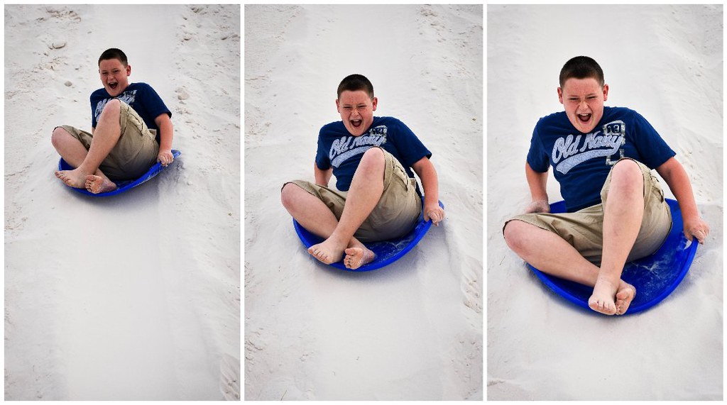 christopher sledding