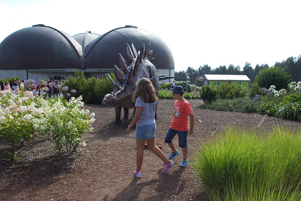 Museo del Jurásico y niños