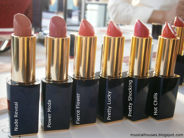 Estee Lauder Pure Color Envy Hi-Lustre Light Sculpting Lipstick Shades