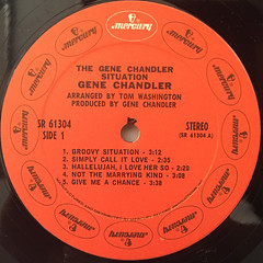 GENE CHANDLER:THE GENE CHANDLER SITUATION(LABEL SIDE-A)