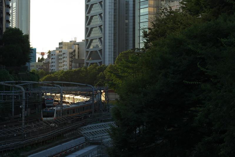 Tokyo Train Story 中央線 2016年8月26日