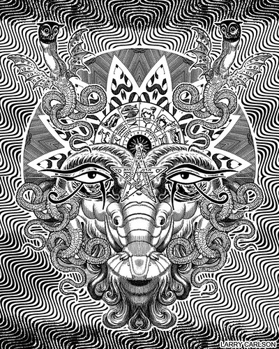 LARRY CARLSON, Image 1, Astronomica Volume 2, 2012 | by LARRY  CARLSON