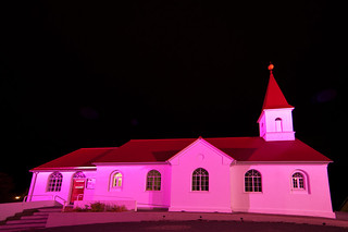 The Church in Faskrudsfjordur - Fáskrúðsfjarðarkirkja | by *Jonina*