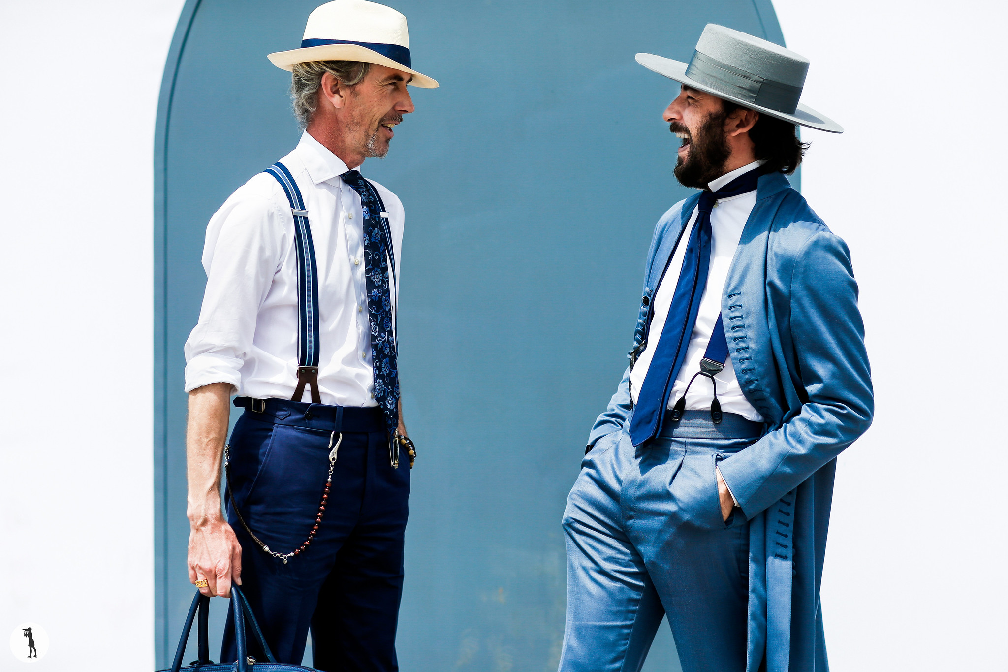 Guillaume Bo and Paul Garcia de Oteyza - Pitti Uomo 90 (1)