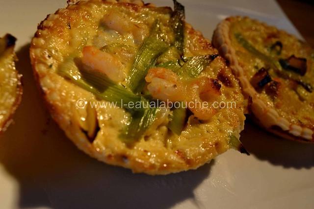 Tartelettes Poireaux-Crevettes © Ana Luthi Tous droits réservés 14