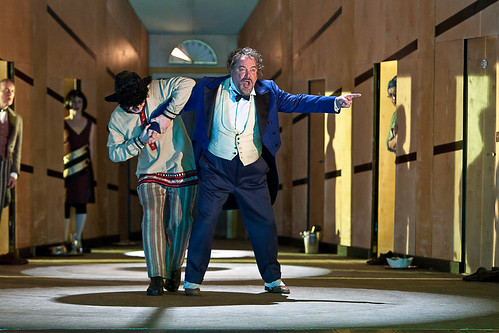 John Tomlinson as The General and Roberto Saccà as Alexey Ivanovitch in The Gambler ©Clive Barda/ROH 2010 | by Royal Opera House Covent Garden