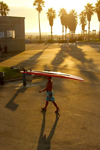 Surf Time in Venice Beach | by Eric Demarcq