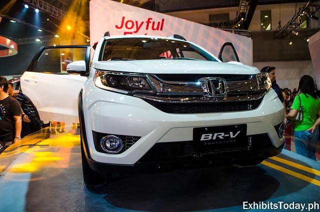 Honda BR-V (White)