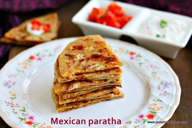 mexican paratha