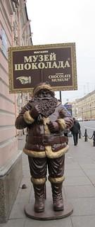 suklaajoulupukki