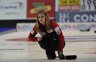 Penticon B.C.Jan11_2013.World Financial Group Continental Cup.Team North America skip Jennifer Jones.CCA/michael burns photo | by seasonofchampions