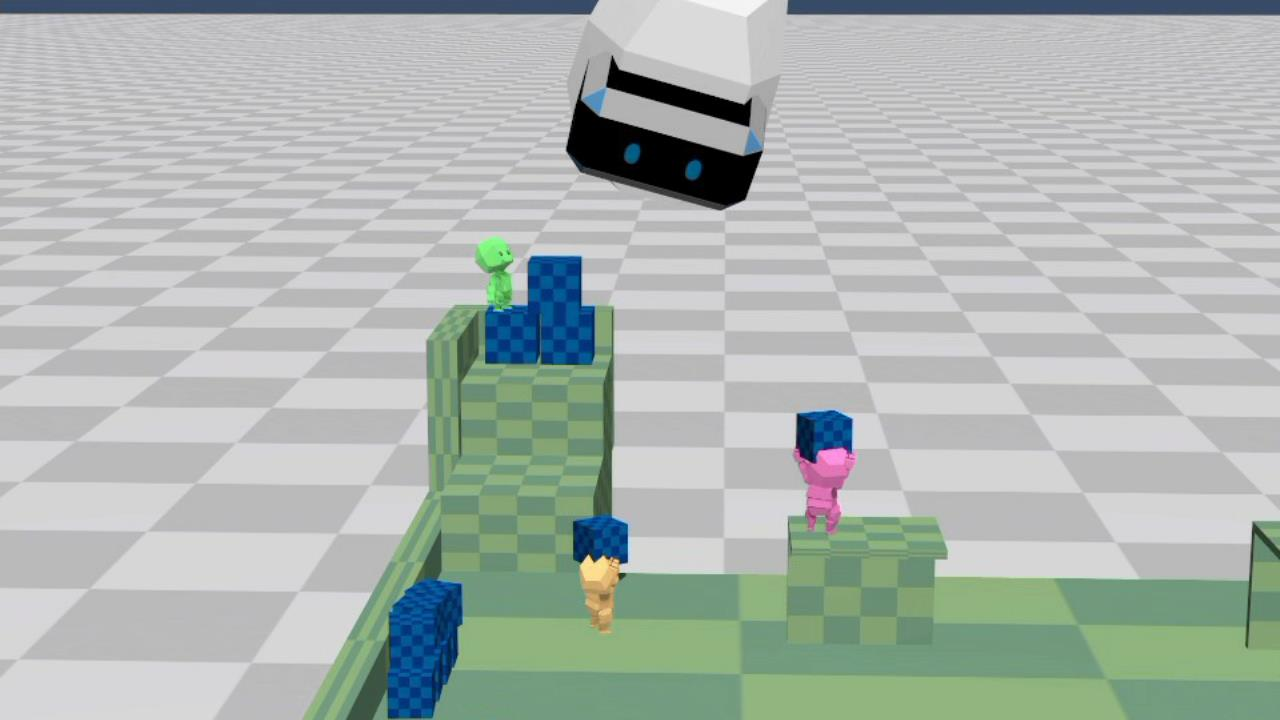The Playroom VR's loveable VR bots