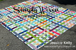 Simply Woven quilt tutorial | by sewcraftyjess