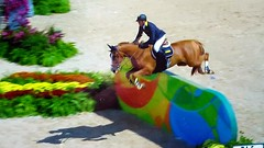 Olympic jumping