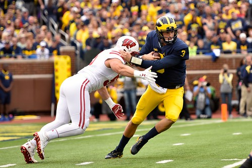 Michigan vs Wisconsin Football 10-1-16 (Bryan Fuller)