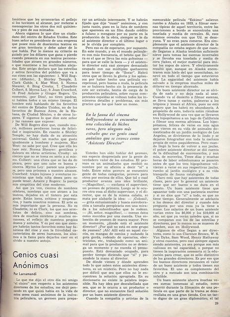 Cinelandia, Tomo XI Nº 1, Janeiro 1937 - 30