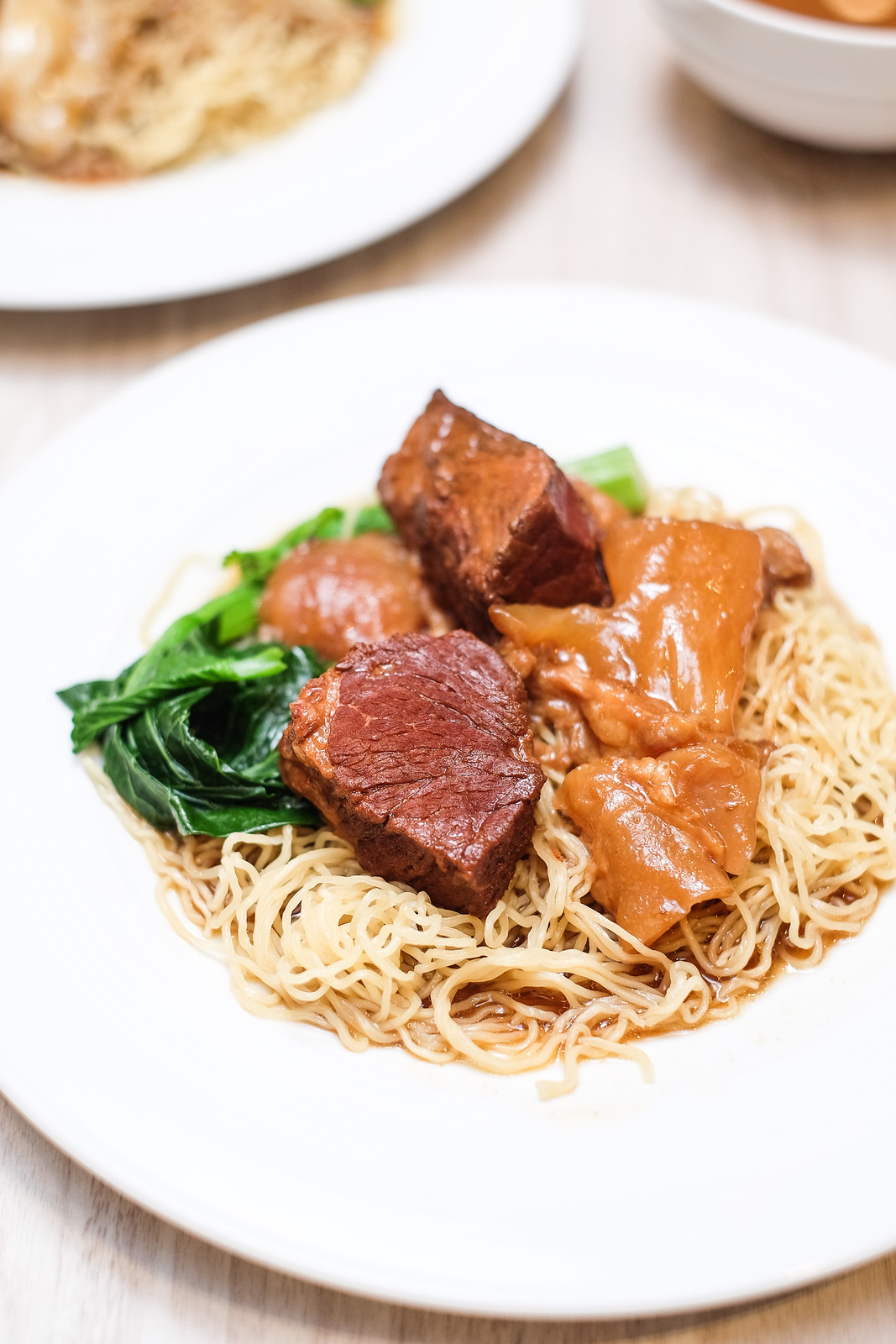 Royal London Duck: Beef  Brisket Noodle Dry