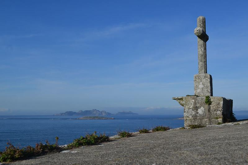Bayona ofrece una excelente vista de las Islas Cíes