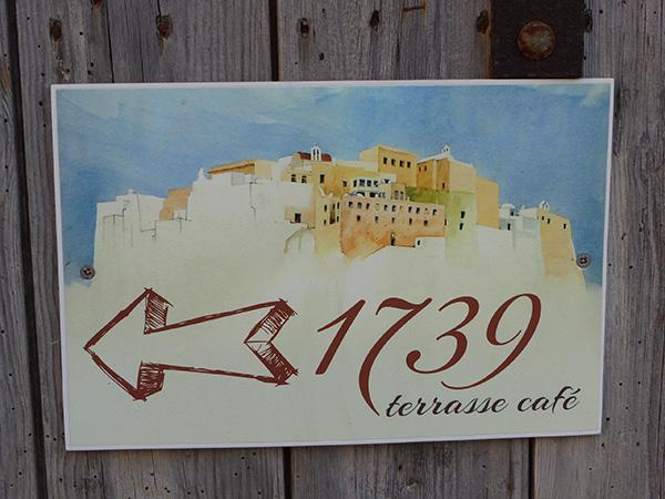 panneau 1739 terrasse café