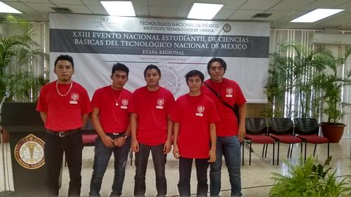 Etapa regional del XXIII Evento Nacional Estudiantil de Ciencias Básicas
