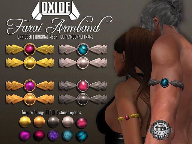 OXIDE Farai Armband- TFC August