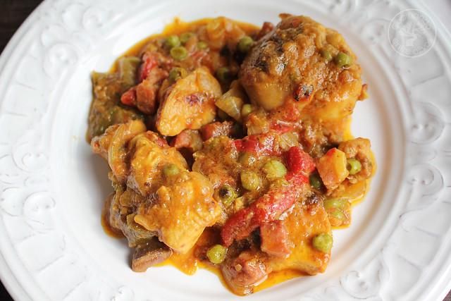 Pollo a la Secretaria, Pollo a la Alcalaina www.cocinandoentreolivos.com (21)