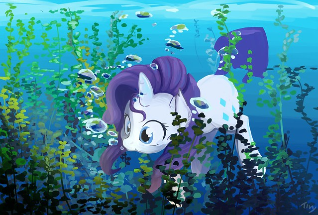 under_the_sea_rarity_by_creativpony