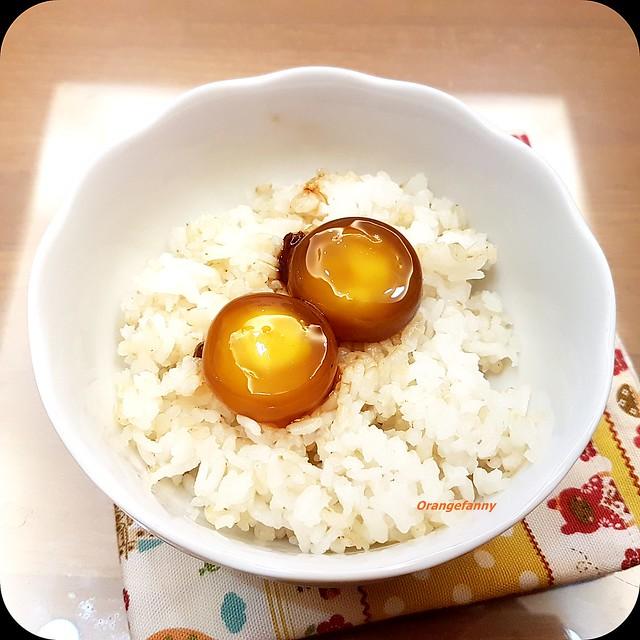 160819 白飯+醬油醃蛋黃-01